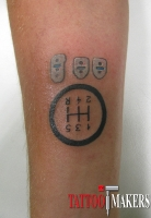 Татуировка гонщика